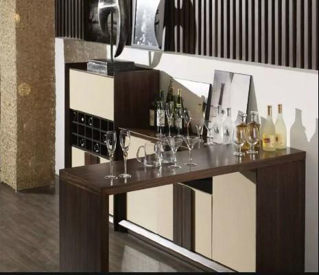 不用去酒吧,家里裝個吧臺酒柜格調更高!